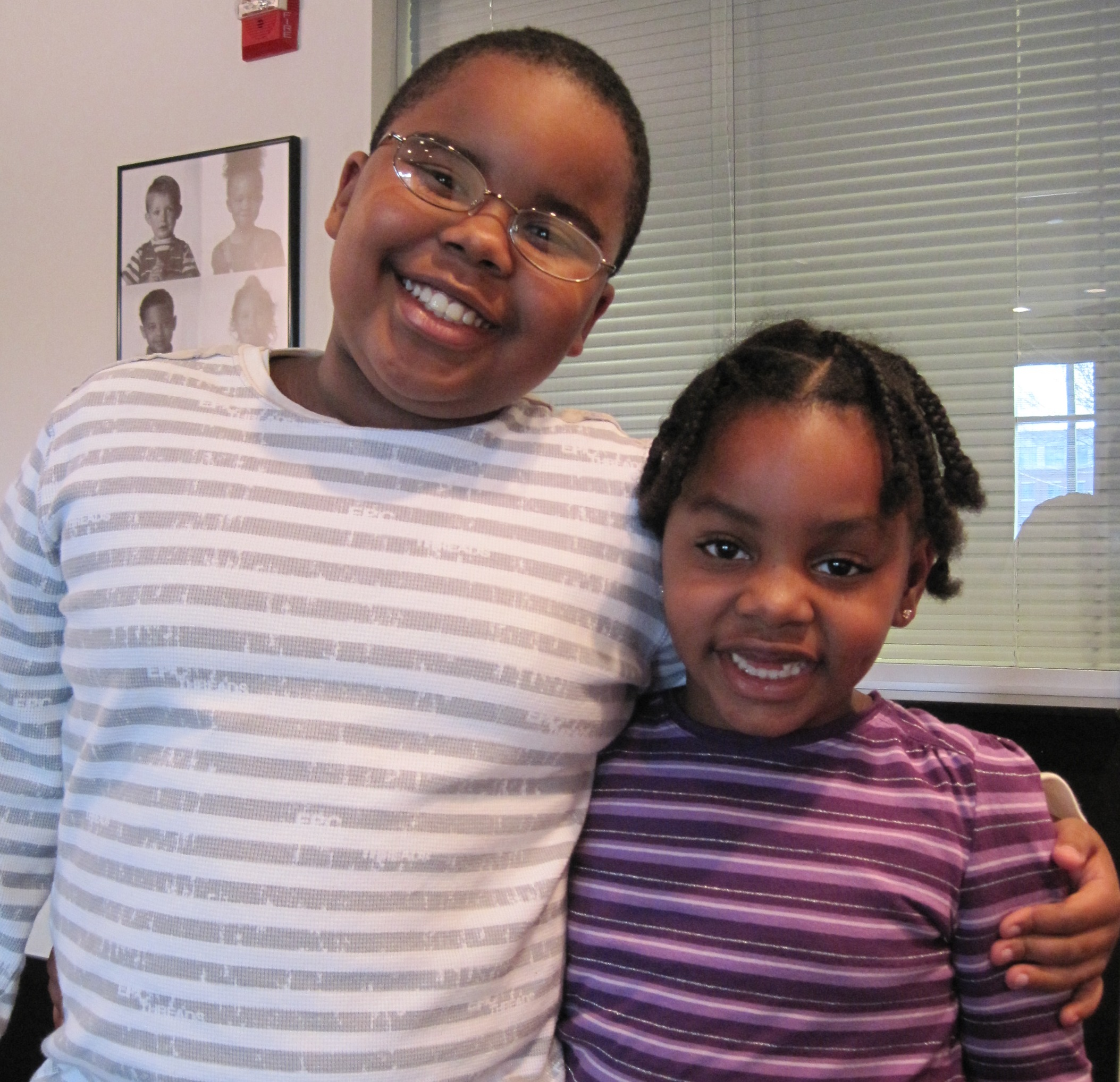 Children's Eyeglass Fitting